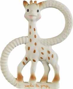 Vulli Anneau de Dentition – So Pure – Sophie la Girafe – Version tres Souple – Caoutchouc 100% Naturel