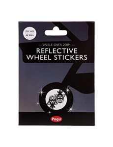 Pogu 3m Scotchlite Réflecteurs pour poussette autocollants de roue–Chouette x 4