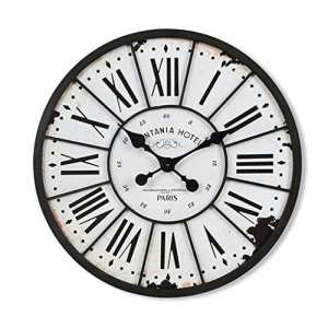 horloge murale Horloges et pendules, Horloge murale, Salon, Horloge Creative, Horloge, européenne moderne, simple, grande horloge, 24 pouces Salon mur de la chambre horloge