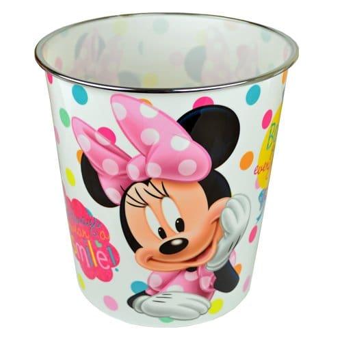 Disney minnie mouse poubelle trash enfants filles d chets - Poubelle chambre bebe ...