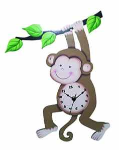 Fantasy Fields TD-0081AM Sunny Safari Horloge murale