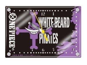 One Piece Layer Clock (Skall Mark) White Beard Pirates
