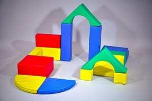 Soft Play Set of 15 Shapes | Modules d'activités | Modules de Motricité