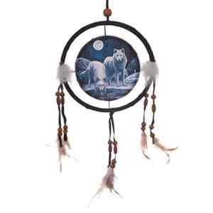 décoratifs Loup Warriors of Winter 16cm Attrape-rêves protectrice sont un moyen Idéal pour ajouter Couleur