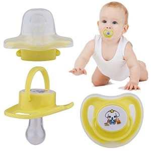 Tétine biberon pour bébé enfants Outil drôle Dessin animé bébé enfant dents Sucettes