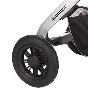 diono 40900-EU-01 Quantum Pneumatic Rear Tires Noir