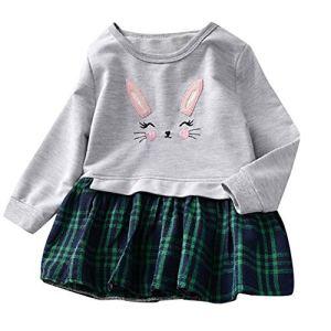 POIUDE Baby Clothes, Chaussures Premiers Pas pour bébé (Fille) – Gris – 3-4 Ans