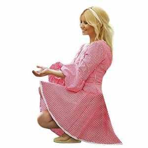 POIUDE Baby Clothes, Chaussures Premiers Pas pour bébé (Fille) – Rouge – S