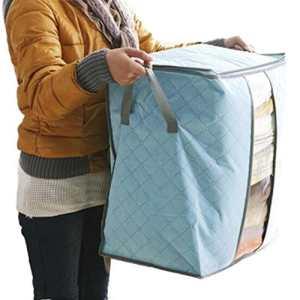 Caisse de rangement toile pliable, vente chaud boîte de rangement Portable Organiseur non-tissé sac de rangement lmmvp