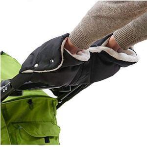 Chancelière pour poussette, poussette, gants en polaire pour landau, poussette, gants imperméables anti-gel