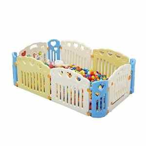 DS- Barrière pour bébé Clôture de Jeu pour Enfants, Clôture de Salle de Parc d'attractions de clôture Clôture de sécurité Rampante && (Taille : 112 * 188cm)