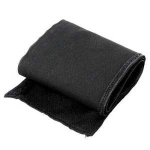 Gosear Chaise accoudoir Crochet et modelage de boucle lavable Oxford tissu gants Rotary housse Fourreau manuels per enfants bébés noir
