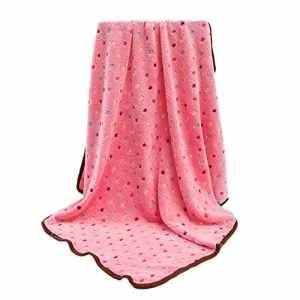 Shuda, 1 pièce, couverture pour animal de compagnie, couverture en molleton de corail, couverture de coussin de couleur en poudre 20cmX25cm, couverture pour matelas