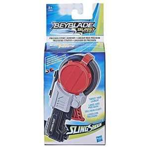 Beyblade Burst Turbo Slingshock – Lanceur Beyblade Burst Maxi Precision – Lanceur Beyblade rotation droite/gauche