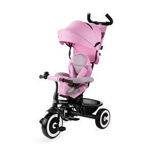 Kinderkraft Aston Vélo avec Accessoires Tricycle Rose