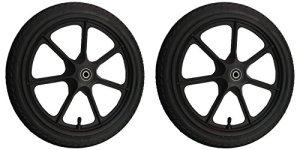 2x 16″ plastique roue/Plastic Wheel