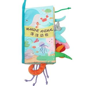 Viewk Cadeau de fête des enfants Nouveau Livre Livre Bébé Enfants Garçons Filles Intelligence Intelligence Jouets Éducatifs