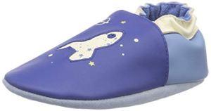 Robeez Planet Travel, Chaussons Mixte bébé, (Bleu Foncé Klein 52), 23/24 EU
