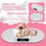 Pèse-personne électronique numérique de haute qualité 20 kg pour bébé, nourrisson, animal domestique, sage-femme, balance de salle de bain antidérapante électronique numérique précise et pratique