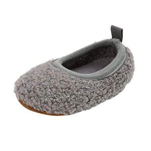 CAITOU Chaussons Bébé,Chaussons Cuir Souple,Bébé Fille Chaussures Bébé Garçon Chaussures Fond Souple Antidérapant de Bébé Garçon Bébé Fille Cowboy Semelle Molle Sneaker