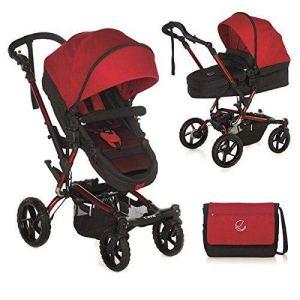 Jané 5483s53–Porte-bébé, couleur rouge