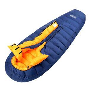 Sacs de couchage pour le camping Camping Sac de couchage pour adultes Sac de couchage en duvet Sac de couchage pour adultes Camping en plein air Sac de couchage Hiver Épaississement intérieur Ultra lé