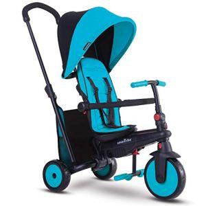 Smartrike – 5021800 – Tricycle évolutif Pliant smarTfold 300 Plus – Bleu
