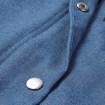 ZOTTOM Femme Bleu Porte- Coton maternité Allaitement Tee Shirt sans Manche Femme Robe Blouson Sacs imperméables Manches Polaire Voile Maternite zippé Zip Boite Plaid imperméable Pyjama Maternit