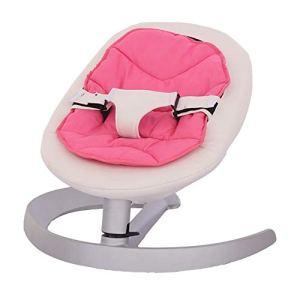 Wanlianer-Baby Products Nouveau-né à Toddler Chaise berçante pour bébé Rocker pour Nouveau-né à Enfant (Couleur : Rose, Taille : Single Layer Cushion)
