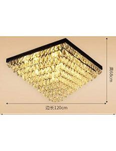 XJDJH LED européenne e14 LED Cristal de Larme de Fer LED Lampe.LED Light.Ceiling Lights.LED Plafond.