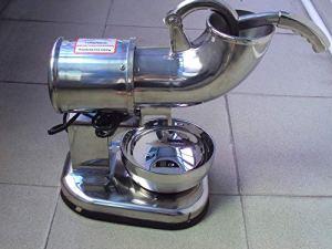 YAMEIJIA Broyeur Semi-Automatique électrique de Glace de Haute Performance de la Machine 250W de Rasoir à Glace de Bloc de la CE 220V,110V