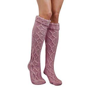 Filles Dames Femmes Cuisse Haut Sur Le Genou Chaussettes Longues Bas de Coton Chaud Stripe Socks Pack Chaussettes Multicolore Unisexe Chaussettes de Sport