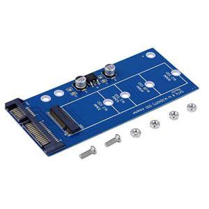 M2 NGFF ssd SSD SSS3 Transformez la carte d'extension adaptateur d'adaptateur Sata SATA en NGFF haute capacité, haute puissance, noir