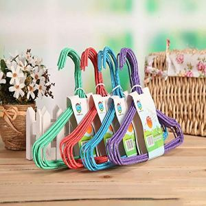 ouying1418 Immersed hanger child airing Cloth hanger Round smooth Clothes hanging hanger