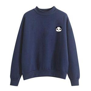 Sweat-Shirt en Velours à Manches Longues et à Motif Poché Couleur Unie Sweatshirt à Capuche Pull pour Femmes Blouse avec Poche Veste Dentelle Taille et à L'ArrièRe T-Shirt