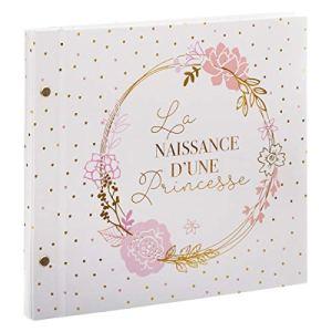 WEB2O Livre de Naissance d'une princesse – Rose – 48 Pages