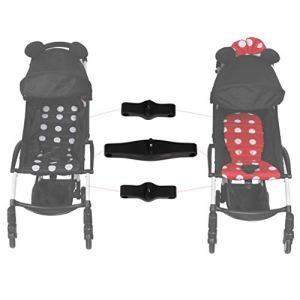 Connecteurs de poussette compatibles avec les poussettes Babyzen YOYOYO/YOYOYO+ – Transforme deux poussettes simples en une poussette double.