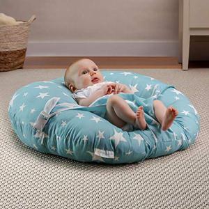 BANBALOO – Transat nouveau-né/Nid de lit pour bébé/Sofa ergonomique pour enfants/Idéal Montessori – Coussin oreiller pour berceau ou lit gigogne – Chaise transportable pour nouveau-nés.
