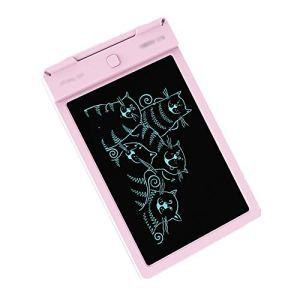 BTTNW CO LCD Tablette D'écriture 9 Pouces Conseil d'écriture Drawing Board Doodle Pad, Cadeaux for Les Enfants Adultes Facile à Assembler LCD écriture Enfants Tablet (Couleur : Pink, Size : 9 inches)