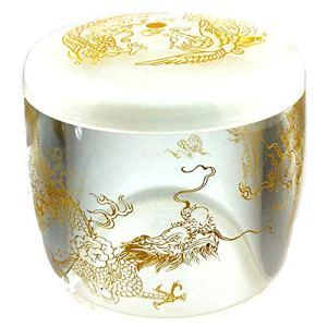 CHOUCHOU Collier Pendentif Urnes en Cristal de Coeur sculpté Cercueil en Cristal de Longfeng Chengxiang Cadeau de Noel (Color : B)