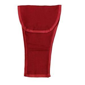 Tapis de souris avec repose-poignet Gants de boxe anti-sale Accoudoirs Housse pour poussette bébé 600D Oxford Tissu Lavable Magic Sticker bébé voiture Garde-corps Couverture rouge