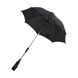 Parapluie amovible pour poussette et parapluie se fixe sur le côté de la poussette pour une protection contre la pluie ou le soleil