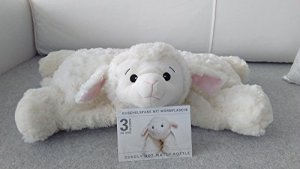Coussin peluche Hugo Frosch – Mouton – Avec bouillotte intégrée