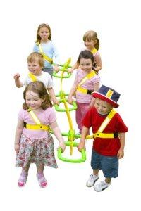 Walkodile Classic – 6enfants, corde de marche pour enfants, Rênes pour tout-petits, Maternelle Harnais de sécurité – Version Anglaise