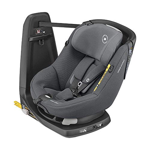 Bébé Confort AxissFix i-Size, siège auto Pivotant pour petit, ISOFIX, de 4 mois à 4 ans (9-18kg), 61-105 cm, Frequency Black (noir)