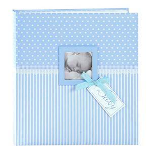 Goldbuch Album de bébé Sweetheart Fille, 30x 31cm 60Pages avec Pergamin, Impression d'art, Rose, Sweetheart Blau, 30×31 cm