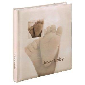 Hama Album Photo livre «Baby Feel», 29x32cm, 60 Pages Blanches, 2 Pages de Texte