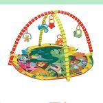 Luoshan Enfants Enfants Fitness Couverture de Jeu Rack Crawling Tapis Tapis Gym Jouets développement intellectuel (coloré) (Color : Colorful)