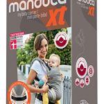 Manduca Porte-bébé XT/All-In-One pour nouveau-né en coton biologique Taille unique avec système de portage flexible pour bébé et enfant de 3,5 à 20 kg