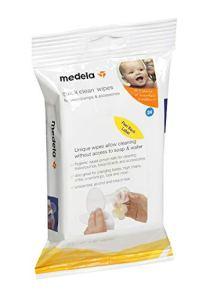 Medela Quick Clean Breastpump & Accessory Wipes – 24 ct